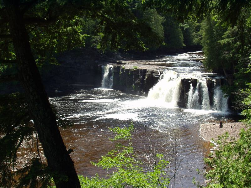 Presq Isle Waterfall
