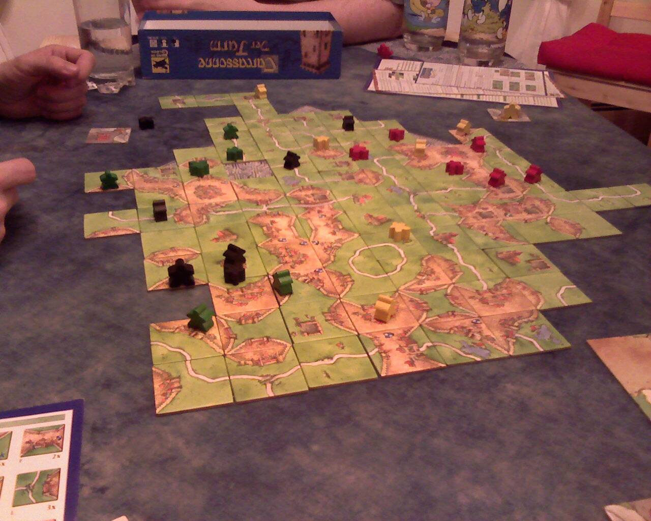 alhambra board game how to play