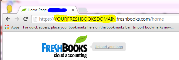 finding your freshbooks domain