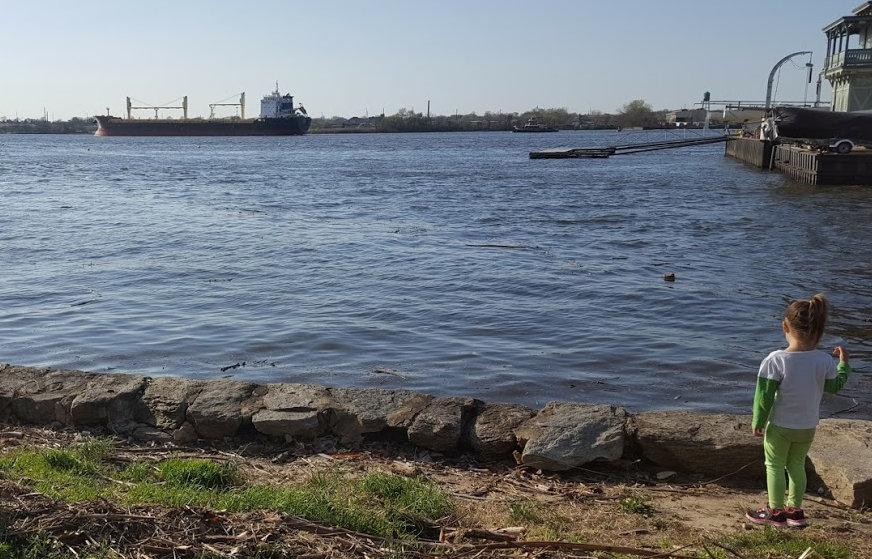 Yulia Ship on River